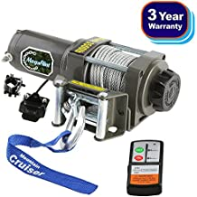 MegaFlint 3500LB ATV Winch UTV 12V Electric 3500 LB/1591kg Off Road Kit A Recovery Winch Truck SUV Wireless Remote Controller