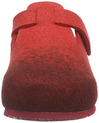 Scholl RENLY Damen Pantoffeln Rot (red/dk. red)