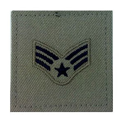 Sage Green AIR FORCE Rank Insignia - E-4 SENIOR (Air Force Sage)