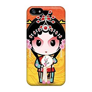5c Scratch-proof Protection Cases Covers For Iphone/ Hot Beijing Opera Phone Cases