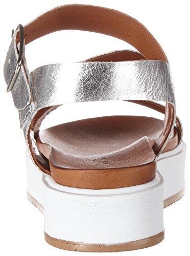 Femme Talons Argent 7320 silver Compensés Inuovo qH8Stw5t