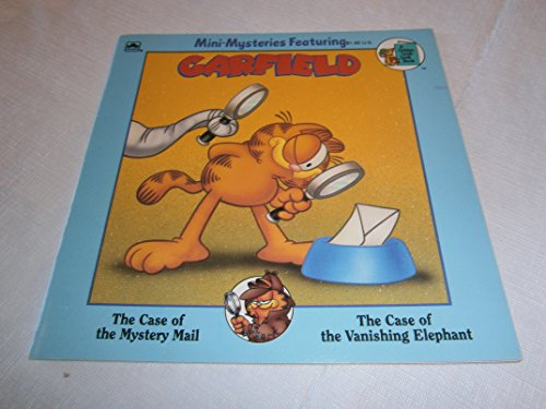Garfield, the Case of the Mystery Mail & the Case of the Vanishing Elephant (Paperback 1991) ()