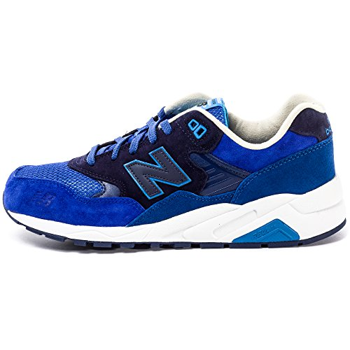 New Balance MRT580 Mens Suede Trainers Royal Blue - 43 EU