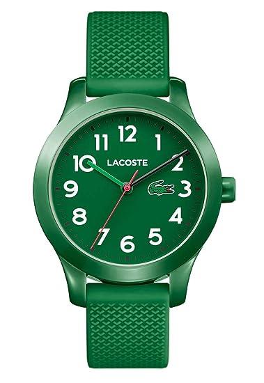 Lacoste Reloj Análogo clásico para Niños de Cuarzo con Correa en Silicona 2030001: Amazon.es: Relojes