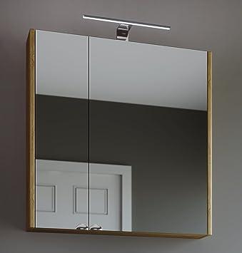 Planetmöbel Spiegelschrank Badezimmer WC Badezimmerschrank 64cm ...