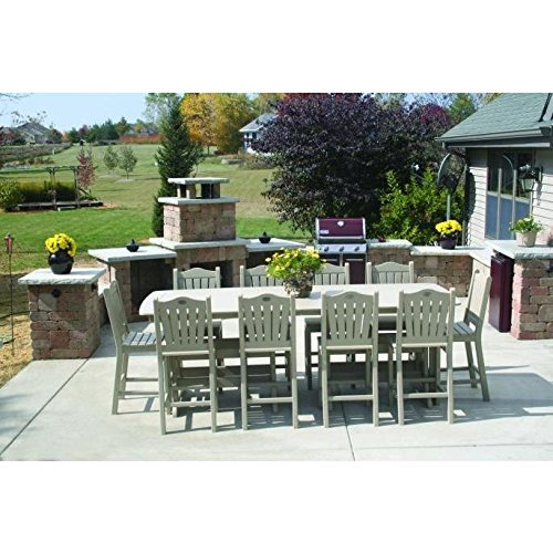 Perfect Choice Outdoor Furniture Expandable Table End 37