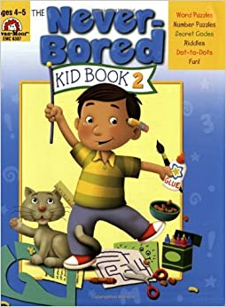 The Never-Bored Kid Book 2, Ages 4-5 by Jill Norris (1-Jun-2006)