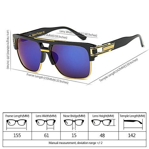 XFentech sol Estilo 07 libre Gafas UV400 las de Vendimia al de la para Hombre aire Mujeres Unisex de r4rqHU