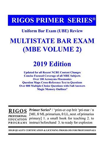 Rigos Primer Series Uniform Bar Exam (UBE) Review