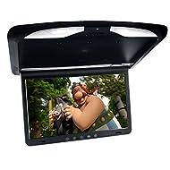 Moniteur Overhead 43,18cm (17 pouces), 16:9 , 1920 * RGB * 1080, FM, émetteur IR, entrée audio, entrée AV, HDMI, infrarouge, entrée vidéo avec toit éclairage et haut - parleurs intérieur, noir