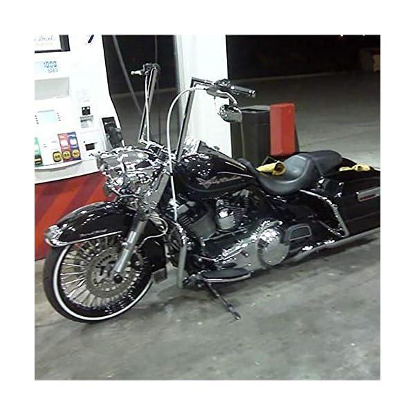 12/'/' Rise APE Hanger Handlebar For 1986-2019 Harley Touring Softail