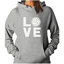 TeeStars - Love Volleyball for Volleyball Fans Women Hoodie