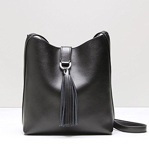 MALLUO - Bolso mochila  para mujer negro