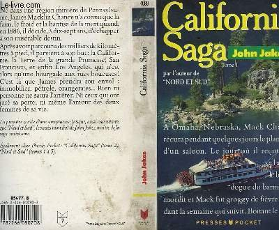 California saga, tome 1