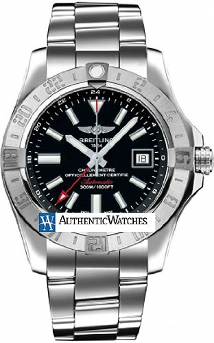 Breitling Avenger II GMT Mens Watch A3239011/BC35
