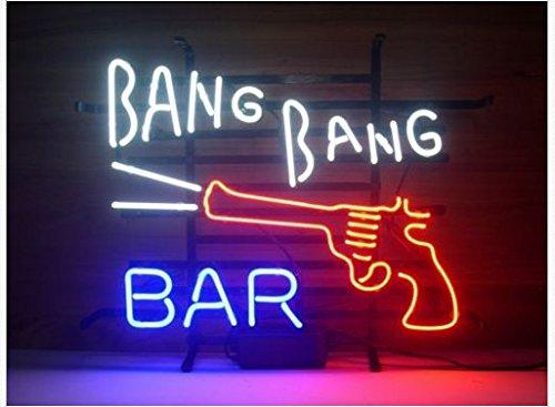 Bang bang bar hand crafted glass tube neon sign 17winsx14h ins bang bang bar hand crafted glass tube neon sign 17winsx14h aloadofball Image collections