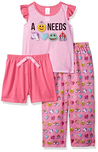 Emoji Princess Sleepwear For Girls