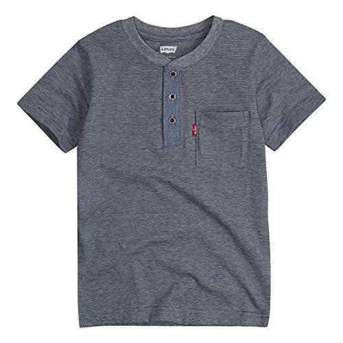 - Levi's Boys' Pocket Henley T-Shirt, Dress Blues, 3T