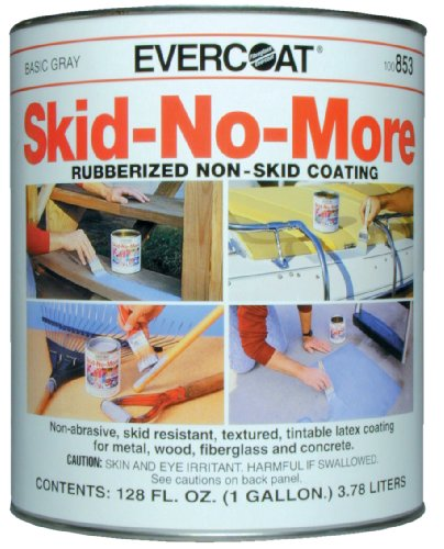 Evercoat 853 Skid-No-More Rubberized Non-Skid Coating - 1 gallon