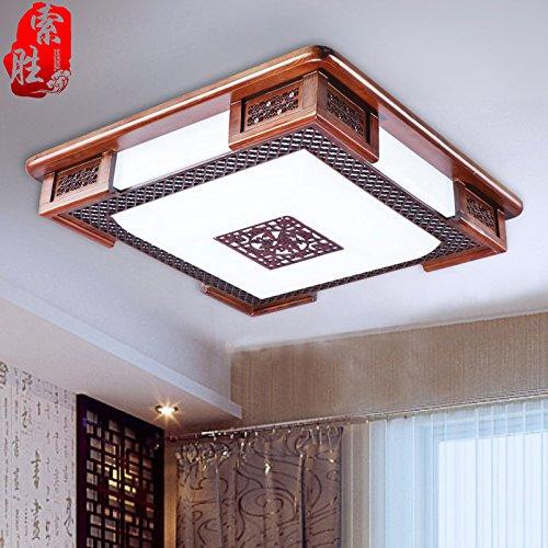 Lieblich BLYC  Moderne Chinesisch Art Deckenleuchten Dimmbar Führte Einfache Solide  Holz Schlafzimmer Wohnzimmer Lampe Lampen Beleuchtung Der Studie 530mm  Günstig ...