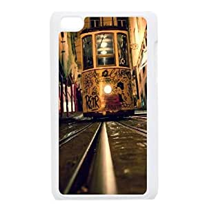 iPod Touch 4 Case White The Citys Trams And Rails JNR2198385