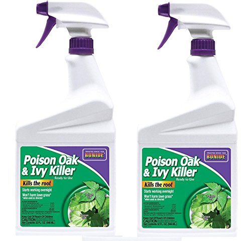 (Bonide B07CG8XHC3 Products 506 Poison Ivy and Oak Killer, 32-Ounce-2 Pack, Multicolor)