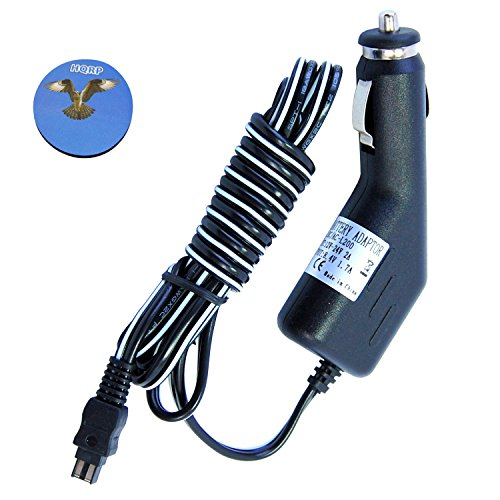 HQRP Car Charger for Sony HDR-CX160E / HDR-CX160/B/HDR-CX300E / HDR-CX305 / HDR-CX350E / HDR-CX350VET / HDR-CX360 Plus HQRP Coaster