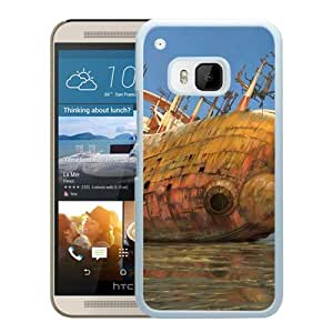 Beautiful And Unique Designed With Sea Stranding Ship Old Debris Reflection (2) For HTC ONE M9 Phone Case