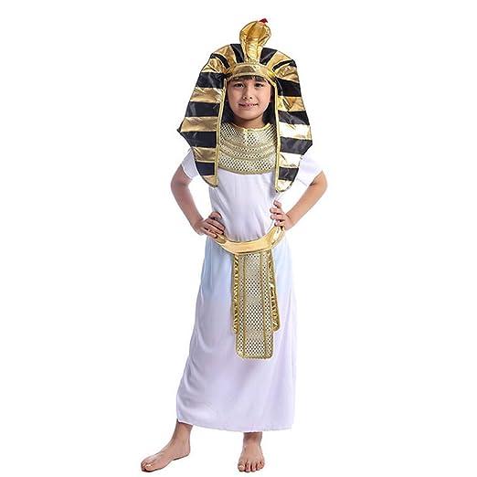 GUAN Disfraz de faraón niño Disfraz de Cosplay de Juego de ...