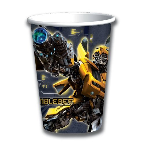 Transformers Paper Cups, 8ct (9 Cups Ounce Transformers)