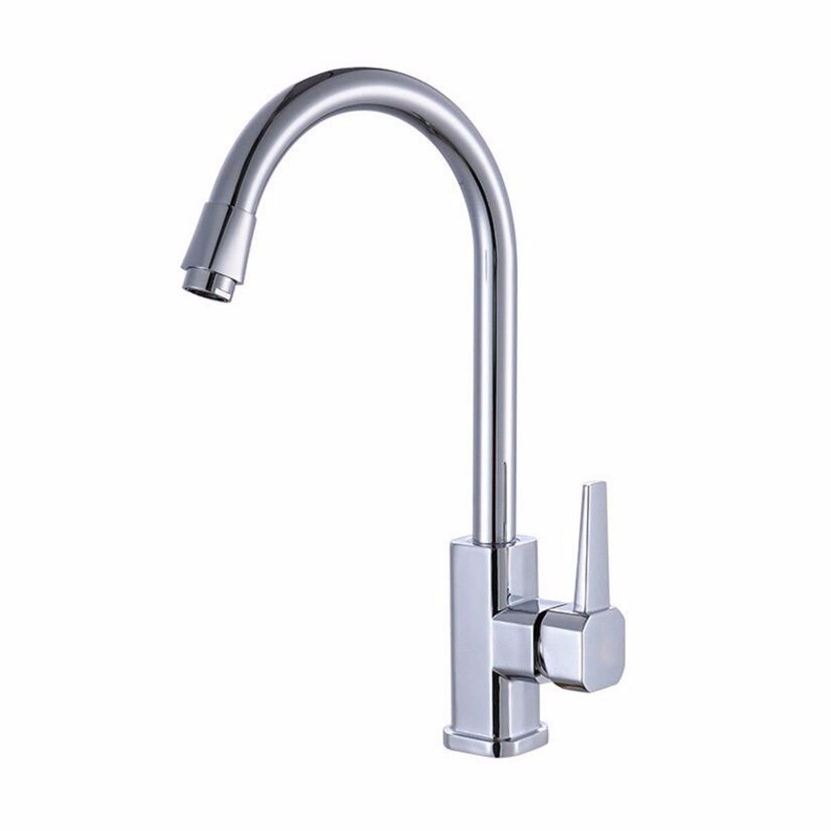 XPYFaucet Faucet Tap Taps Square octagonal kitchen sink hot and cold sink copper can be redated