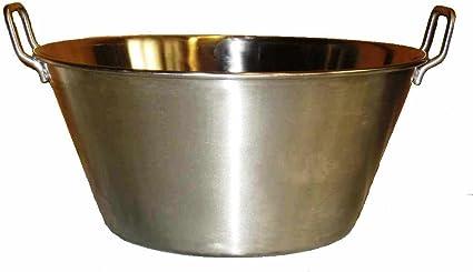 Amazon.com: Cazo Para Carnitas - Comal de wok de acero ...