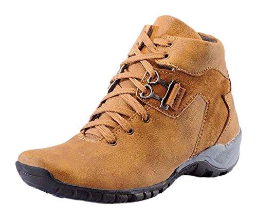 4002871c530e Shoe Island Men s Synthetic Trekking Shoes Trekking   Hiking Footwear
