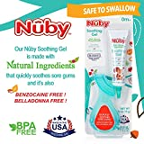 Nuby Natural Soothing Gel for Sore Gums with Bonus