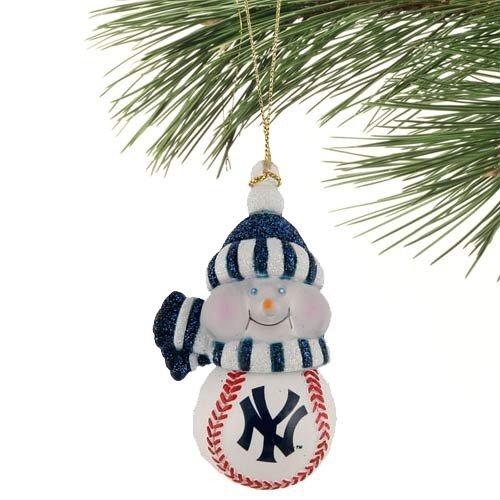 mlb new york yankees all star light up snowman ornament by scottish christmas