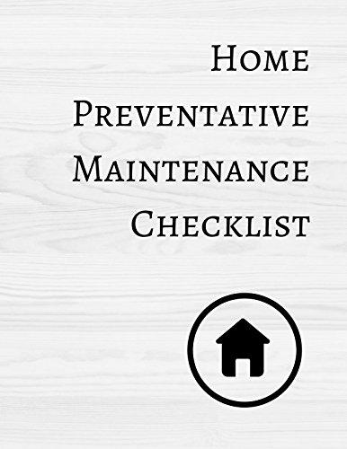 Home Preventative Maintenance Checklist PDF