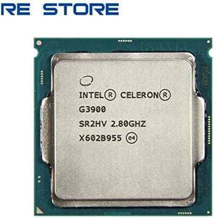 CPUs - used Intel Celeron G3900 Processor 2MB Cache 2.80GHz LGA1151 Dual Core Desktop PC CPU