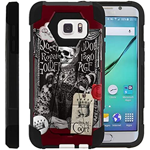 Galaxy S7 Case | SHOCK Series Impact Hard Rubber Durable Unique Creative Cover, Samsung S7 by Miniturtle - Royal Sales
