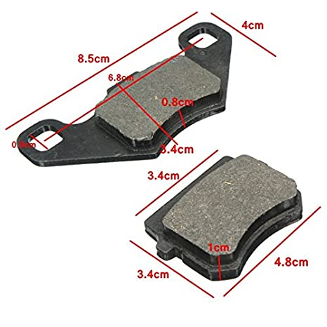 Ils Brake Pads Motorcycle 50cc 80cc 90cc 110cc 125cc 140cc Pit Dirt Bike Quad ATV