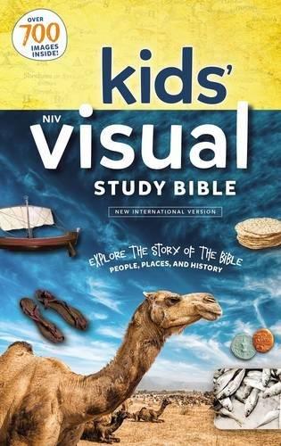 NIV Kids' Visual Study Bible, Hardcover
