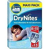 Huggies DryNites - Ropa interios de pijama para niños de 8-15 años, 27