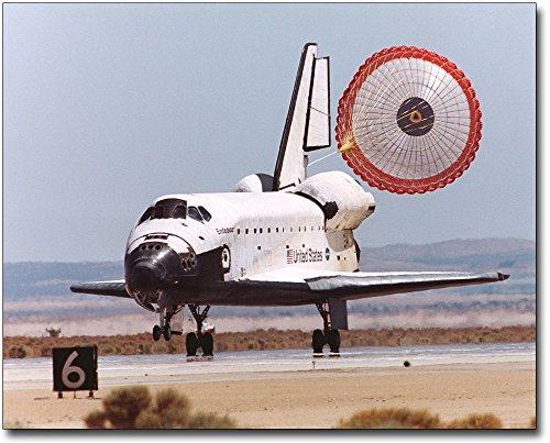 STS-111 Space Shuttle Endeavour Landing 11x14 Silver Halide Photo Print