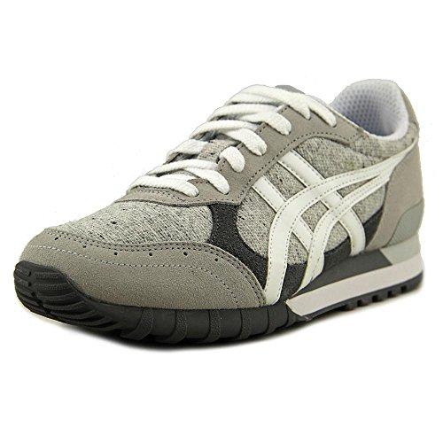 Asics - Zapatillas para deportes de exterior para hombre gris (Soft Grey/White 1301)