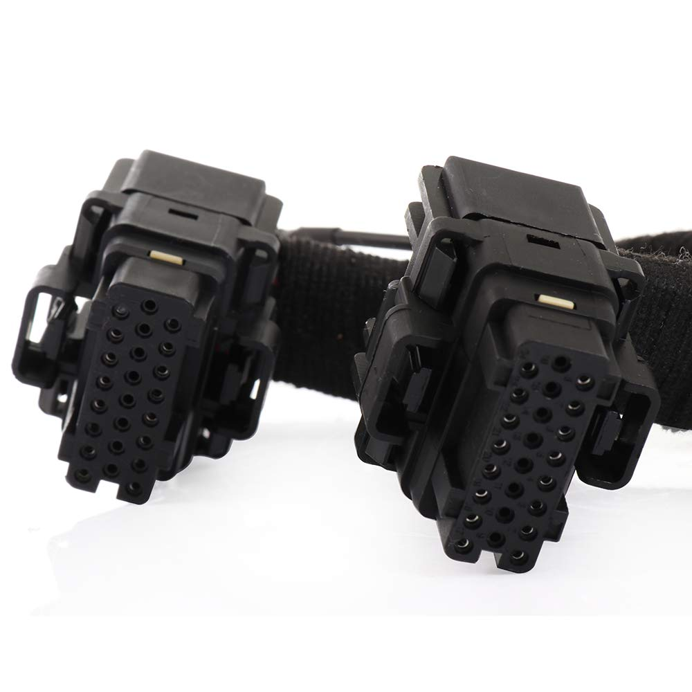 SCITOO Fuel Injector Wiring Harness Powerstroke Module Fit for 5C3Z9D930A Ford F-250 F-350 F-450 F-550 Super Duty 2003 2004 2005 2006 2007 6.0L