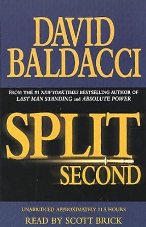 Amazon.com: Split Second (Audible Audio Edition): David Baldacci, Scott Brick, Hachette Audio