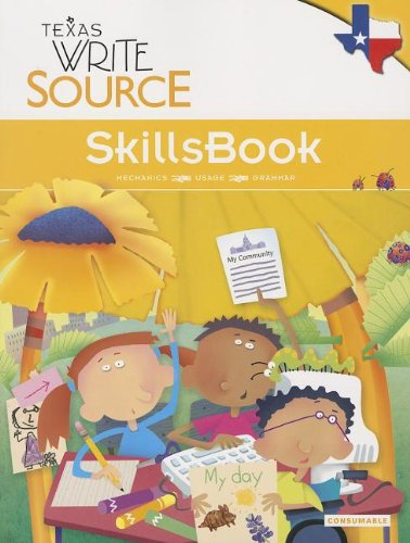 Great Source Write Source Texas: SkillsBook Student Edition  Grade 2