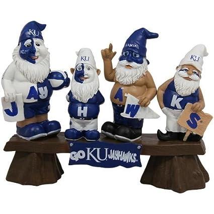 Amazon.com   Forever Collectibles NCAA Kansas Jayhawks Garden Gnome ... 6ec7bc203