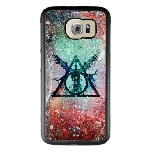 Harry Potter Samsung Galaxy S6 Case, Onelee [Never fade] Harry Potter Samsung Galaxy S6 Black TPU and PC (Harry Potter Cell Phone Case)
