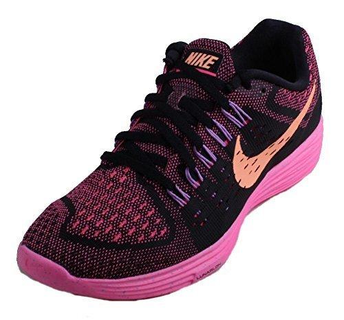 Nike Womens Lunartempo, Black/Sunset Glow/Pink Pow/Fuchsi...