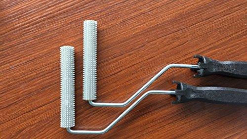 2pcs-x6-fiberglass-laminating-roller-bubble-roller-for-resin-black-handle-laminating-nobby-roller-fo